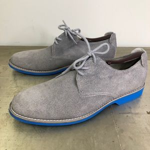 Aldo Suede Lace Up Loafer